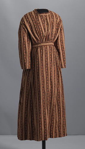 Image for Dress made by an unidentified enslaved woman or women