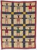 Thumbnail for Black Uncle Sam pieced miniature quilt