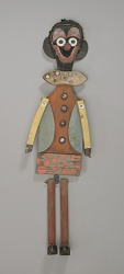 Jig doll in the form of a clown