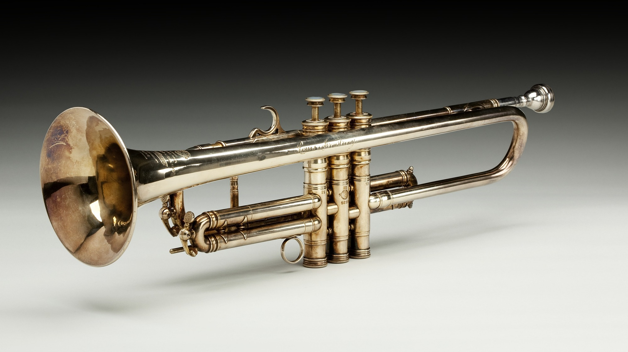 images for Trumpet owned by Louis Armstrong