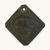 Thumbnail for Charleston slave badge from 1850 for Mechanic No. 23
