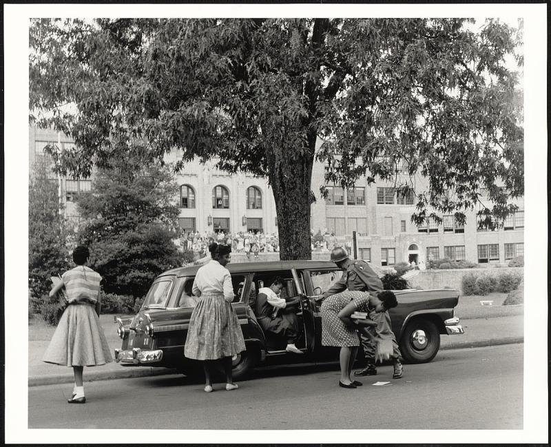 Image 1 for Desegregation of Central High School Little Rock, AR