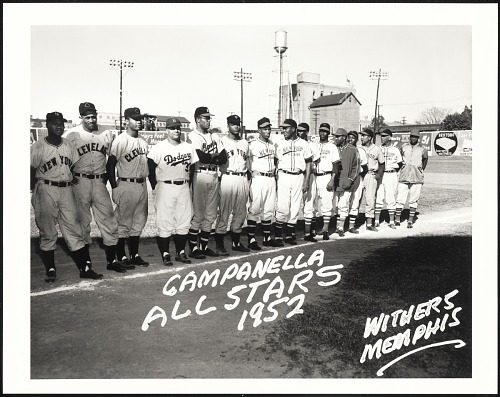 Image for Hank Thompson, Suitcase Simpson, Larry Doby, Roy Campanella, George Crowe, Monte Irvin, New York Cubans.