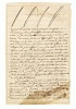 Thumbnail for Letter to Charles Humbert Marie Vincent signed by Toussaint Louverture