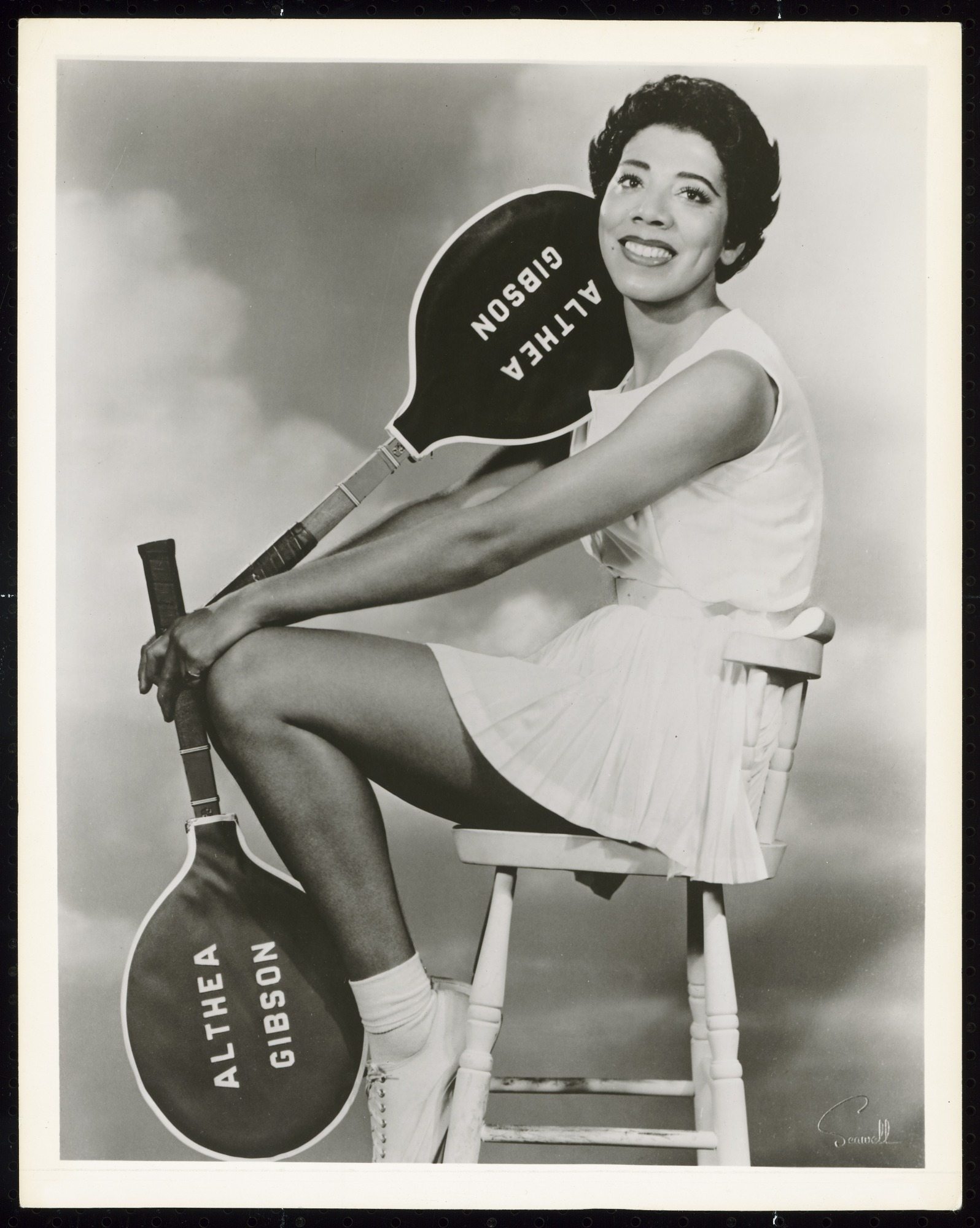 images for Photograph of Althea Gibson