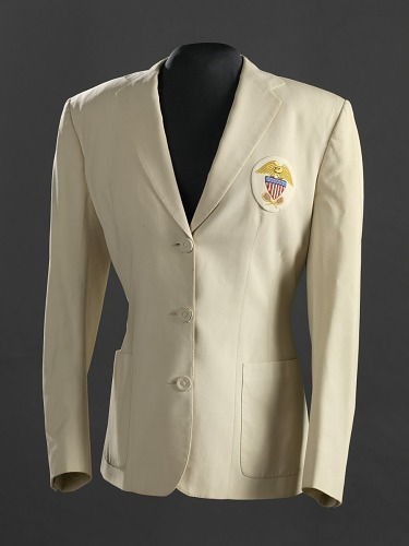 Image for Wightman Cup blazer worn by Althea Gibson