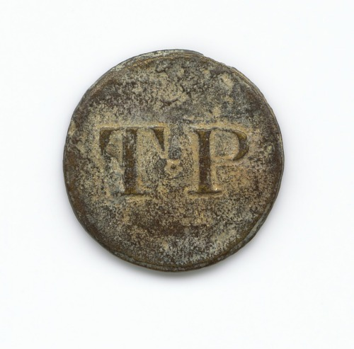 Image for Identification button used by Thomas Porter II