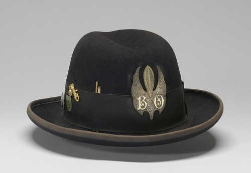 Image for Felt hat with medallion worn by Bo Diddley