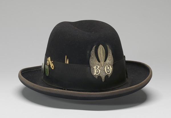 Image 1 for Felt hat with medallion worn by Bo Diddley