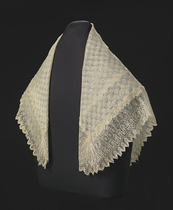 images for Silk lace and linen shawl given to Harriet Tubman by Queen Victoria-thumbnail 2