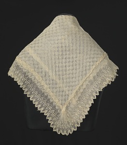 images for Silk lace and linen shawl given to Harriet Tubman by Queen Victoria-thumbnail 4