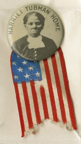 Image for Pinback button for the Harriet Tubman Home