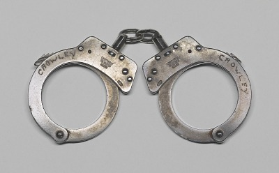 Handcuffs used in the arrest of Henry Louis Gates, Jr.