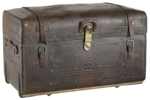 Image for Traveling trunk used by George Thompson Garrison in the Civil War