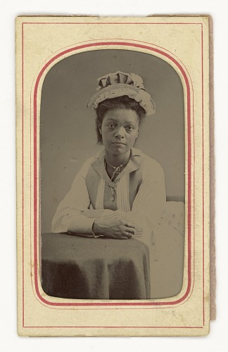 Image for Tintype of a woman