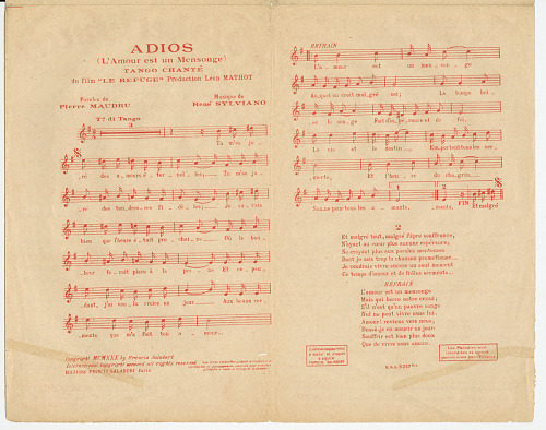 Image for J'ai Deux Amours