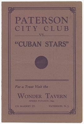 <I>Paterson City Club vs.