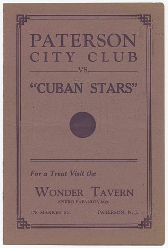 Image for Paterson City Club vs.