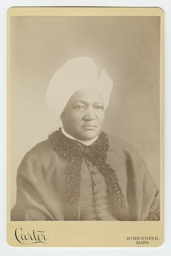 Image for Cabinet card of Sarah Ann Blunt Crozely