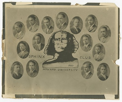 Collage of photographs of the Alpha Phi Alpha