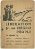 Thumbnail for The Road to Liberation for the Negro People