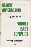 Image for Black Americans and the Middle East Conflict