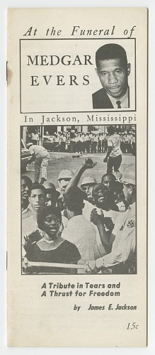 Image for At the Funeral of Medgar Evers in Jackson, Mississippi: A Tribute in Tears and a Thrust for Freedom