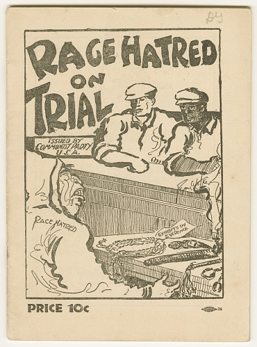 Image for Race Hatred on Trial