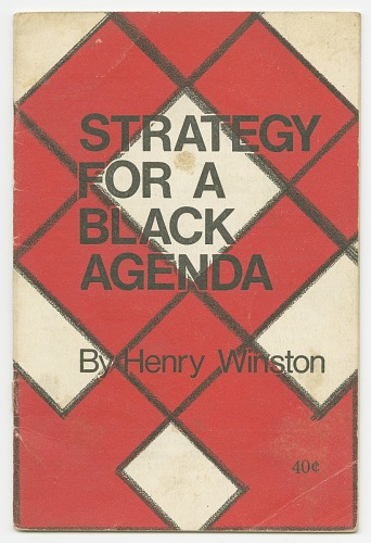 Image for Strategy for a Black Agenda