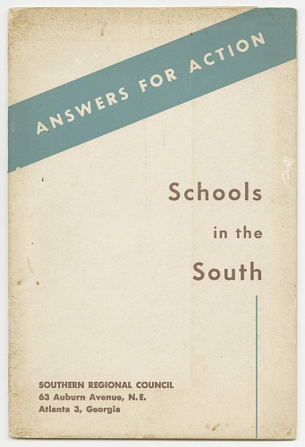 Image for Answers for Action: Schools in the South