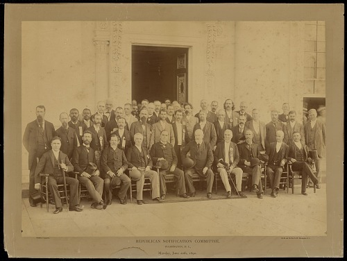 Image for Republican Notification Committee, Washington, D.C., Monday, June 20th, 1892