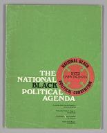 Image for The National Black Political Agenda