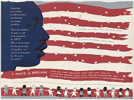 Memorial poster for Martin Luther King, Jr.