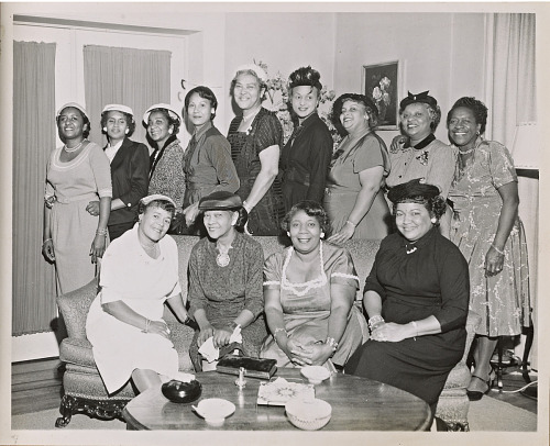Image for Photo of Citizenship Education Project brunch held in the home of Lurline White