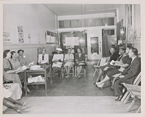 Image for Photograph of citizenship education class at San Francisco NCNW headquarters