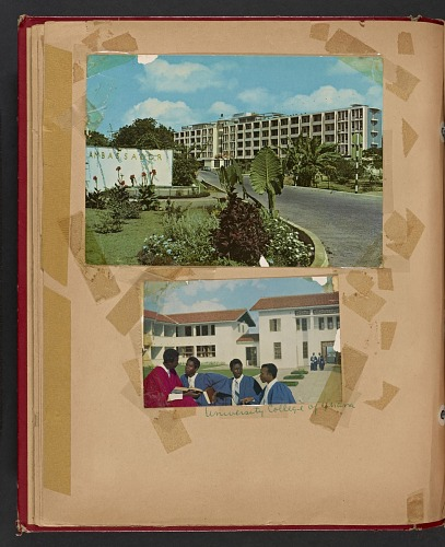 Image for Scrapbook commemorating Nigerian independence compiled by Frances Albrier