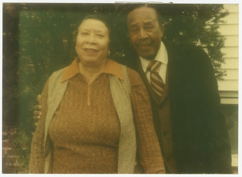 Image for Photograph of Mae & Joel Reeves outdoors
