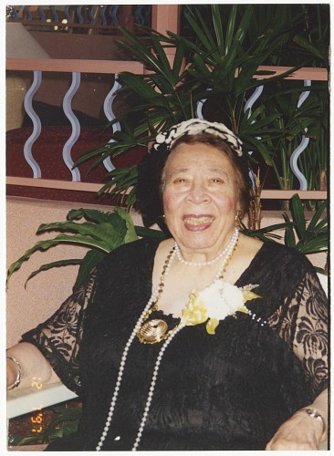 Image for Color photo of Mae Reeves at age 85