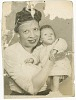 Thumbnail for Photograph of Mae Reeves and Donna Limerick as an infant