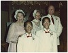 Thumbnail for Photograph of Mae Reeves, Donna Limerick, and family at a wedding