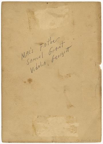 Image for Photograph portrait of Samuel Grant