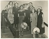Thumbnail for Photograph of Mae Reeves and a group of women standing on stairs