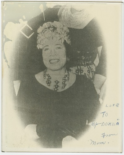 Image for Print copy of a photograph of Mae Reeves