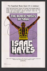 Poster for The Black Moses of Soul, Isaac Hayes Special