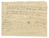 Thumbnail for Letter and payment receipt for hire of enslaved persons owned by Apphia Rouzee