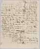 Thumbnail for Affidavit of apprehension of James and John, property of Harriot Rouzee