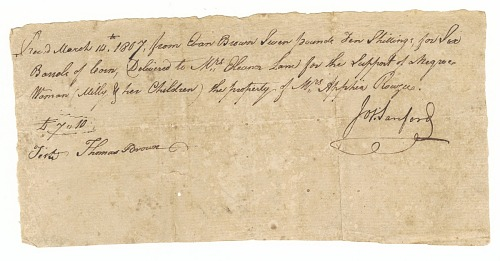 Image for Payment receipt for loan of Milly and her children, owned by Apphia Rouzee