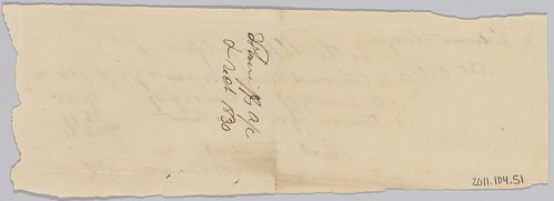 Image for Record of taxes on property, including enslaved persons, owned by Edward Rouzee