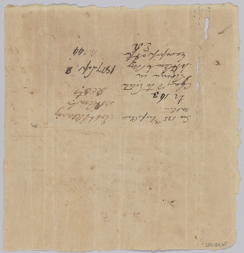 Image for Invoice and receipt for payment by Edward Rouzee