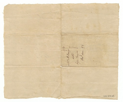 Image for Invoice for weaving and the hiring of an enslaved woman, Philice